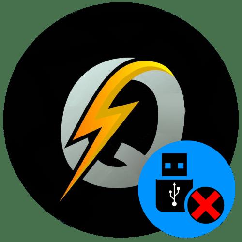 Q-Flash не видит флешку
