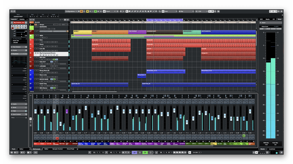 Использование программного обеспечения Cubase для записи музыки