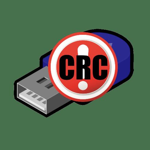 как исправить ошибку данных crc на флешке