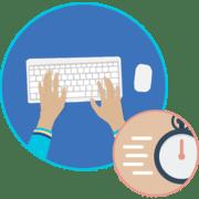 Как научиться быстрой печати на клавиатуре