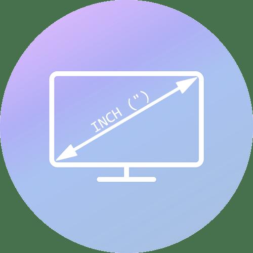 Как узнать диагональ монитора компьютера