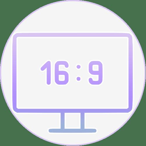 Как узнать соотношение сторон монитора