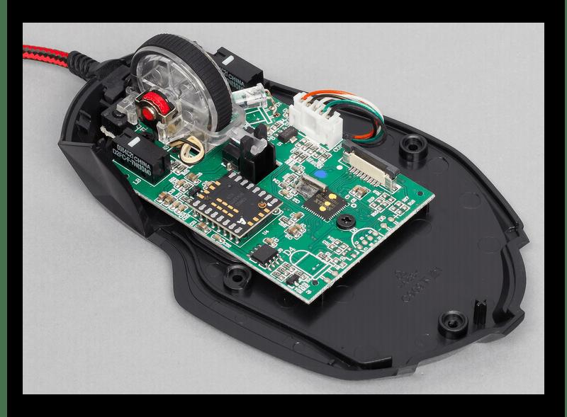 Проблемы с электроникой мышки