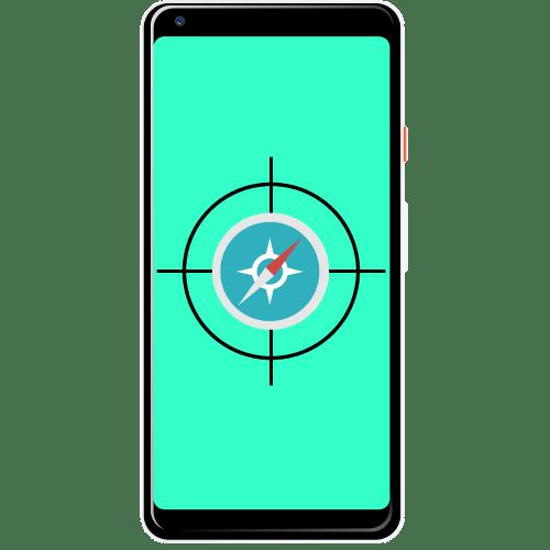как откалибровать компас на андроиде