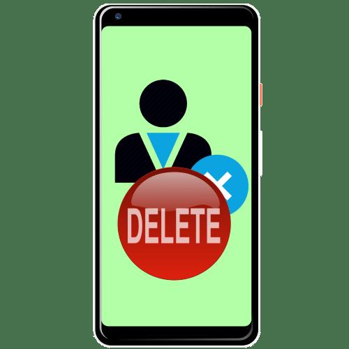 как удалить удаленные контакты на андроид