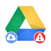 Не скачиваются файлы с Гугл Диска