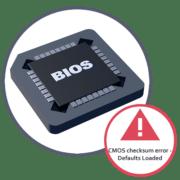 Ошибка CMOS checksum error - Defaults Loaded при загрузке