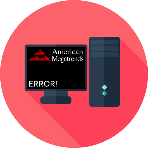 При включении компьютера появляется American Megatrends