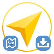 Как загрузить карту в Яндекс Навигатор