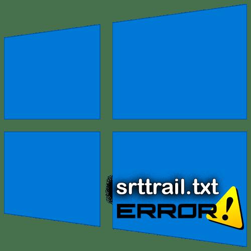 Не загружается srttrail.txt в Windows 10