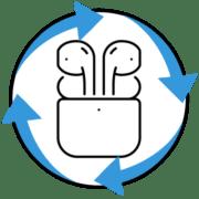 Как обновить AirPods