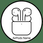 Как переименовать AirPods