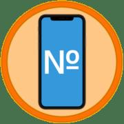 Как поставить знак номер на Айфоне
