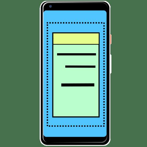 как сделать длинный скриншот на андроиде