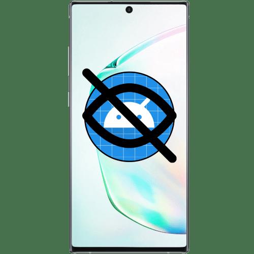 как скрыть приложение на андроиде самсунг