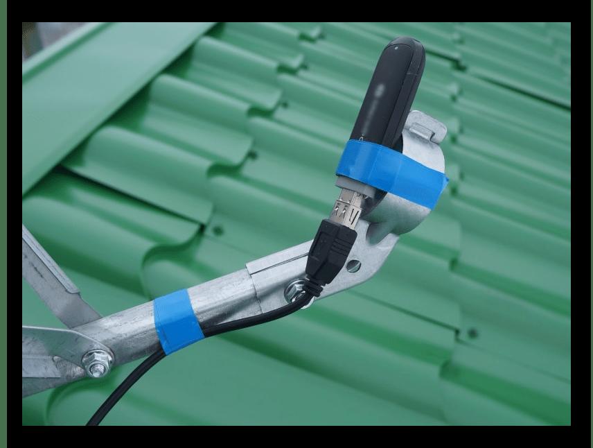 Конструирование антенны для усиления сигнала модема
