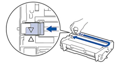 Настройка фотобарабана лазерного принтера Brother после замены тонера