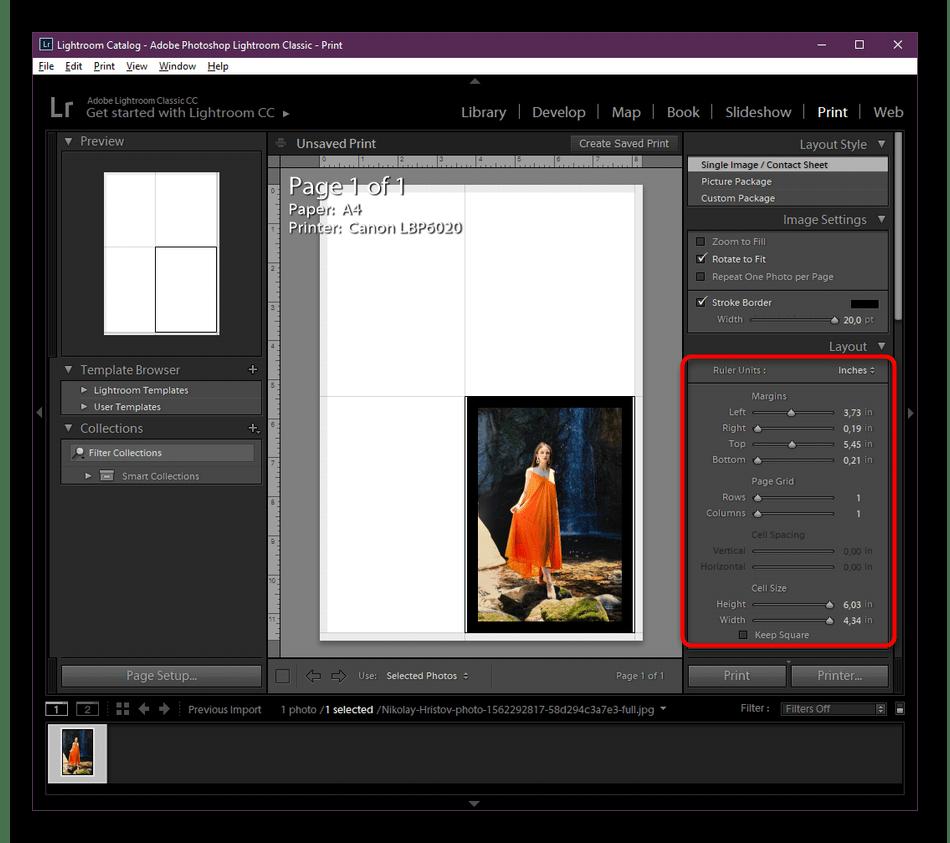 Настройка принтера для печати фотографий при помощи специальных программ