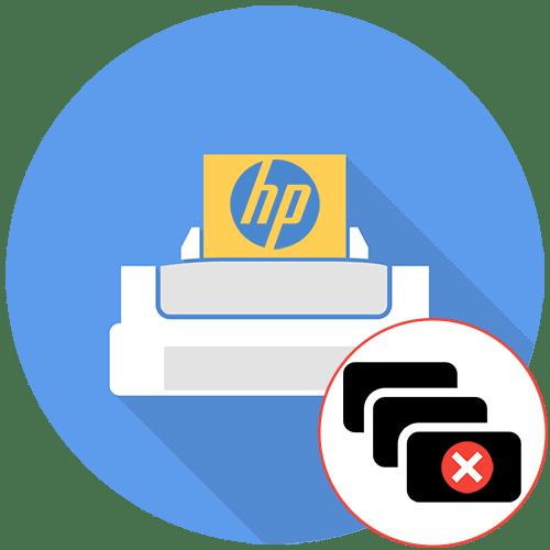 Не печатает HP принтер документ в очереди