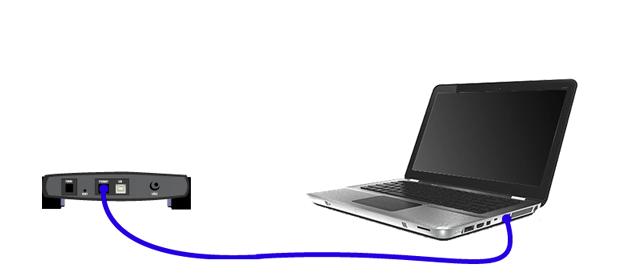 Подключение роутера по кабелю локальной сети для настройки Wi-Fi