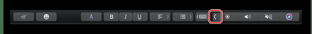 Комбинация клавиш F11 и F12 для изменения громкости на клавиатуре macbook