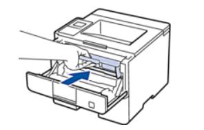 Установка нового тонера в лазерный принтер Brother