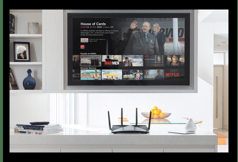 Выбор беспроводного типа подключения роутера к телевизору при помощи модема