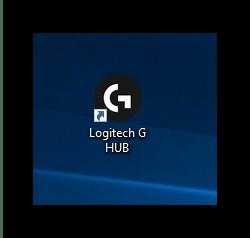 Запуск конфигурационного приложения для настройки мыши Logitech через G HUB