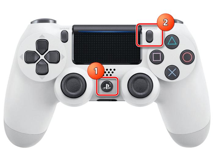 Использование комбинации клавиш для подключения геймпада PS4 к iPhone