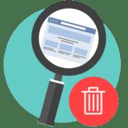 как удалить историю запросов в браузере