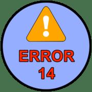 ошибка 14 при установке игры