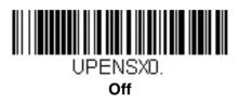 Отключение функции подстановки ноля при сканировании 7-значных кодов в Honeywell Voyager 1450g