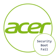 Security Boot Fail на Acer что делать
