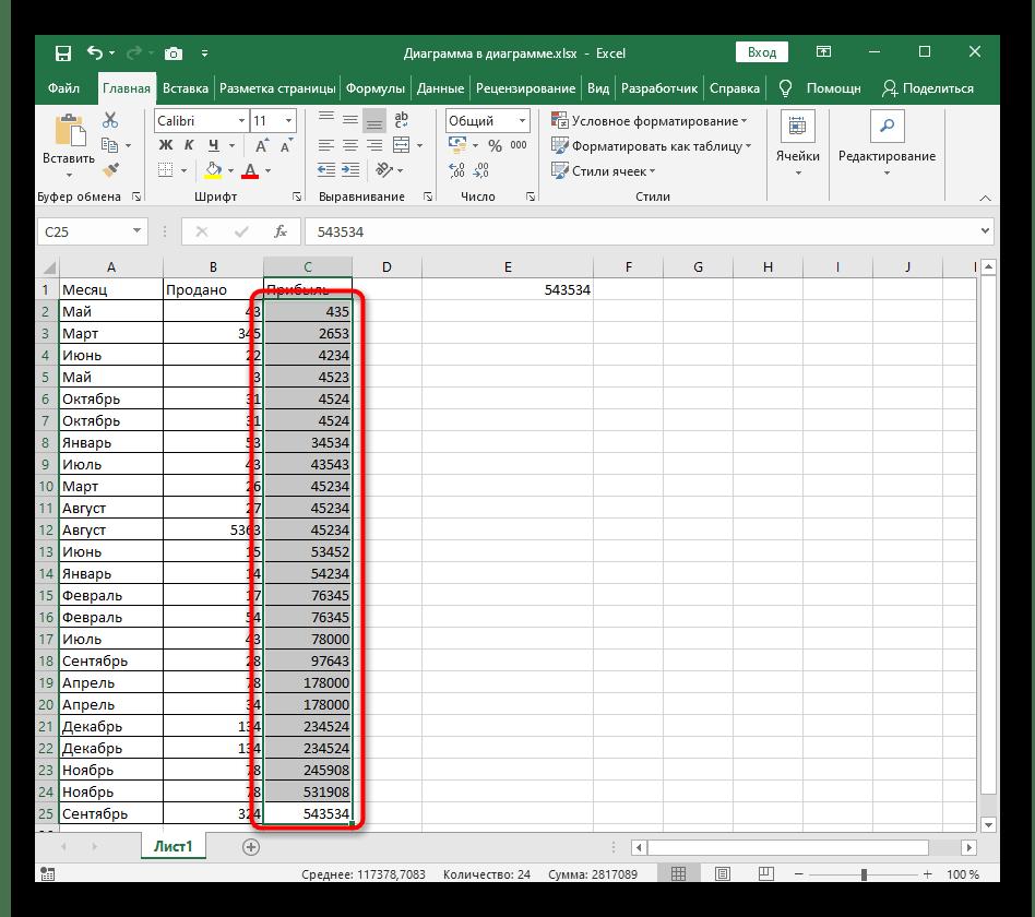 Успешная сортировка по возрастанию с расширением выделенного диапазона в Excel