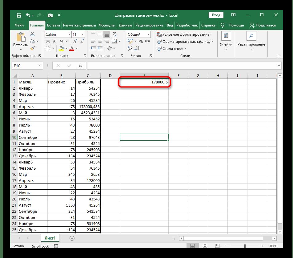 Успешное создание функции округления до десятых в таблице Excel