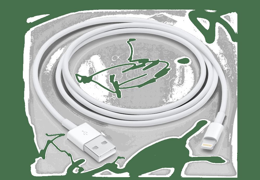 Замена кабеля Lightning-to-USB для устранения ошибки 14 в iTunes