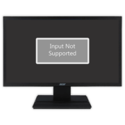 Input Not Supported у монитора Acer