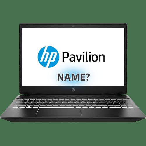 Как узнать модель ноутбука HP Pavilion
