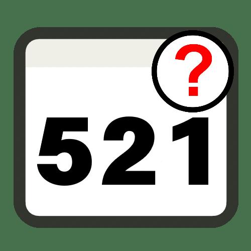 Ошибка 521 при открытии сайтов