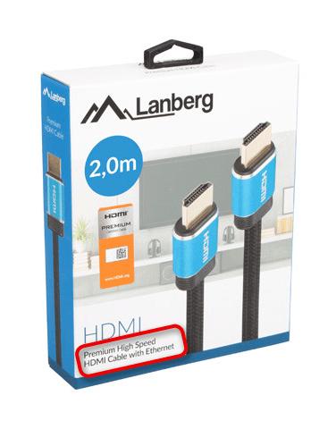Просмотр коробки для определения типа интерфейса HDMI-кабеля