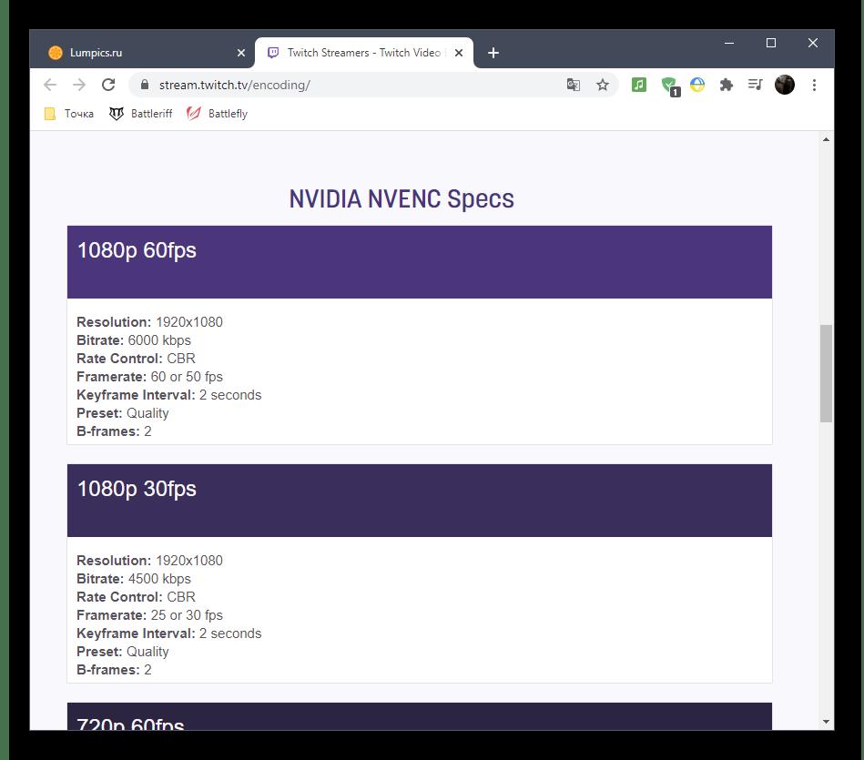 Проверка настроек битрейта и других параметров для вывода в OBS для стрима на Twitch