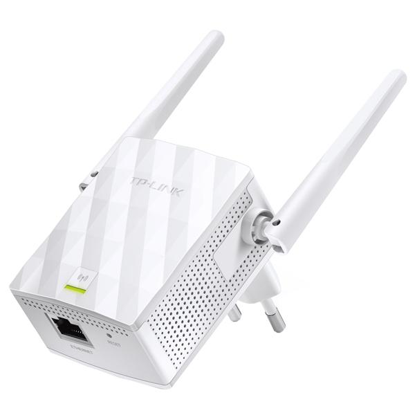 Распаковка и подключение усилителя TP-Link TL-WA850RE для его дальнейшей настройки через веб-интерфейс