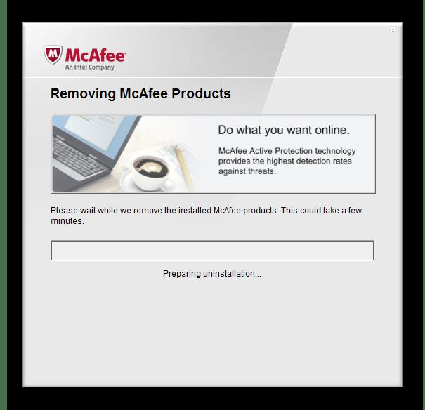 Удаление стороннего антивируса при решении проблем с запуском Касперского в Windows 7