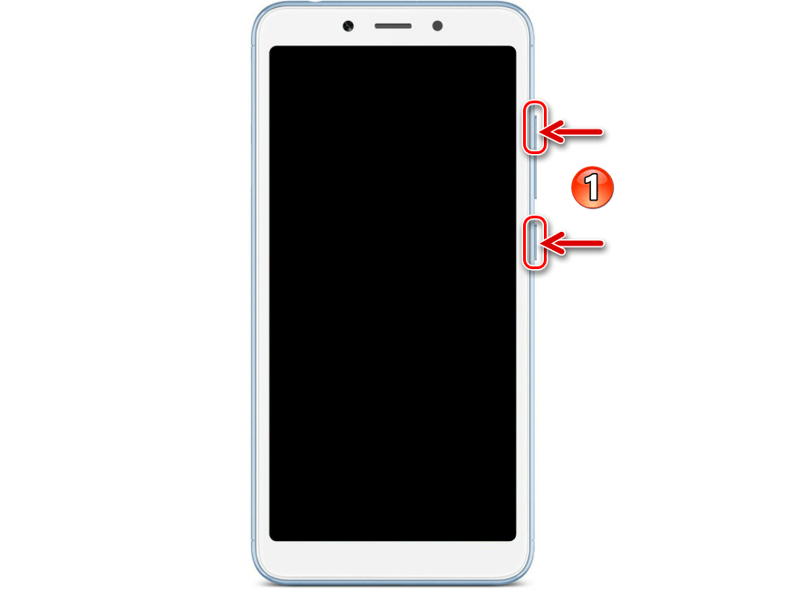 Xiaomi Redmi 6A (cactus) комбинация аппаратных кнопок для входа в рекавери (среду восстановления)