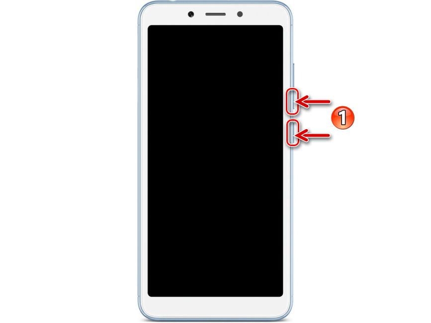 Xiaomi Redmi 6A (cactus) комбинация кнопок для переключения смартфона в режим FASTBOOT