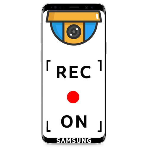 Запись экрана Samsung