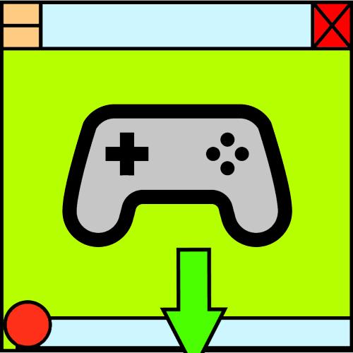 убрать панель задач в игре