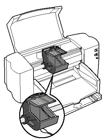 Извлечения остатков бумаги из принтера после его перезагрузки для нормализации работы