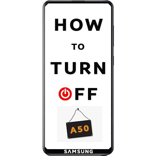 Как выключить Samsung Galaxy A50
