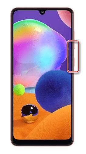 Комбинация клавиш для создания скриншота на Samsung A31